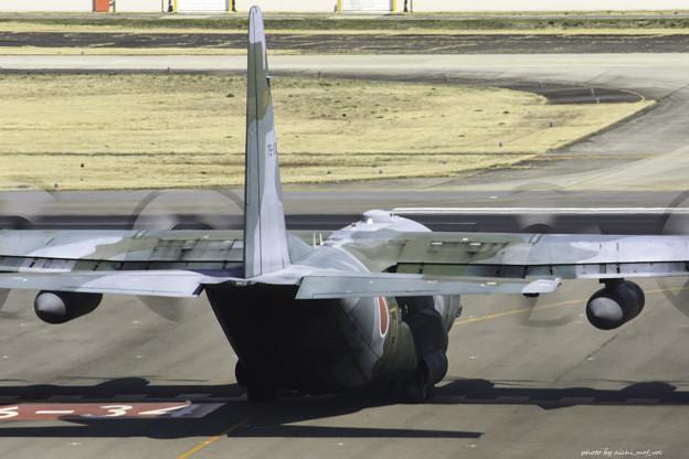 航空自衛隊第1輸送航空隊第401飛行隊 C-130H輸送機 75-1076 IMG_3740-3