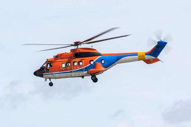 新日本ヘリコプター Aerospatiale AS332 スーパーピューマ JA6720IMG_3675-2
