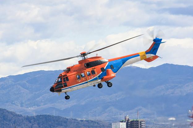 新日本ヘリコプター Aerospatiale AS332 スーパーピューマ JA6720IMG_3670-2