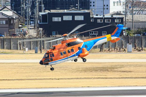 新日本ヘリコプター Aerospatiale AS332 スーパーピューマ JA6720IMG_3660-2