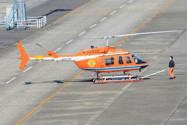 新日本ヘリコプター Bell 206L-3 LongRanger? JA9796 IMG_3634-2