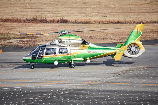 中日本航空 Eurocopter AS365N2 Dauphin 2 JA21DH IMG_7143-3