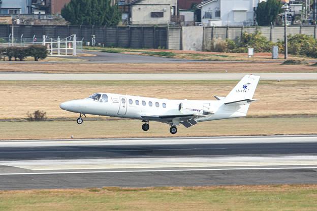 Photos: 中日本航空 Cessna 560 Citation V JA120N IMG_7081-3