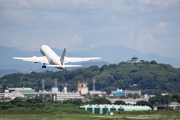 航空自衛隊 第1輸送航空隊 第404飛行隊 KC-767 空中給油機 輸送機 87-3602 IMG_6268-2