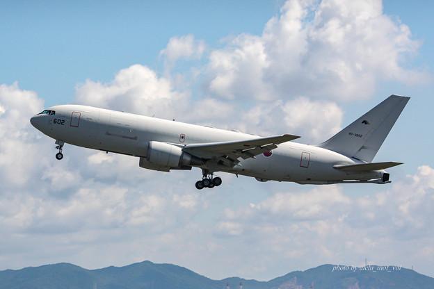 航空自衛隊 第1輸送航空隊 第404飛行隊 KC-767 空中給油機 輸送機 87-3602  IMG_6215-2