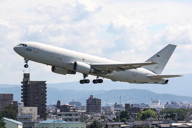 航空自衛隊 第1輸送航空隊 第404飛行隊 KC-767 空中給油機 輸送機 87-3602 IMG_6212-2