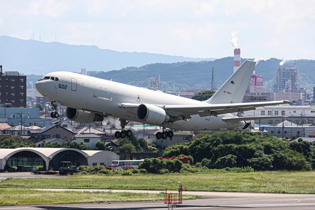 航空自衛隊 第1輸送航空隊 第404飛行隊 KC-767 空中給油機 輸送機 87-3602 IMG_6208-2