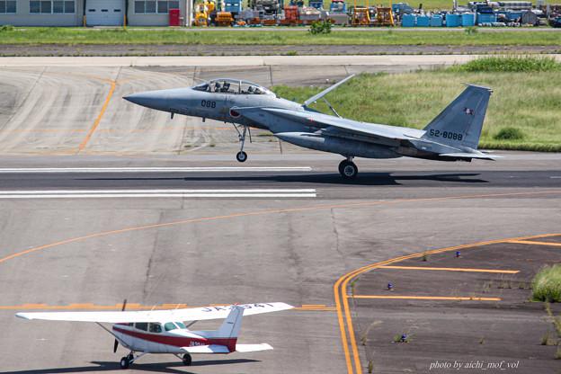 航空自衛隊 F-15DJ 戦闘機 52-8088 IMG_6312-2