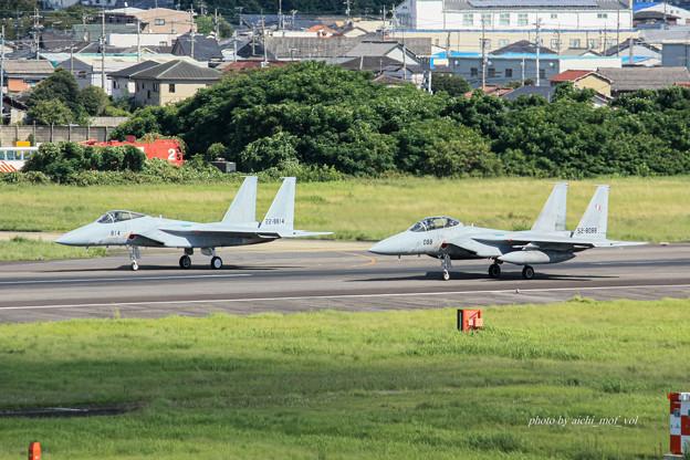航空自衛隊 F-15J 戦闘機 22-8814 F-15DJ 52-8088 IMG_6698-2