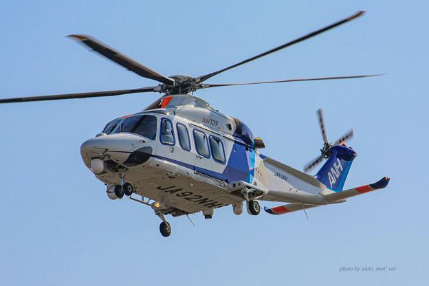 オールニッポンヘリコプター アグスタウェストランド AW139 JA92NH IMG_6181-2