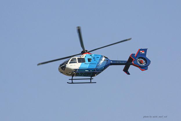 中日新聞 あさづる ユーロコプター EC135P2 JA03CP IMG_6190-2