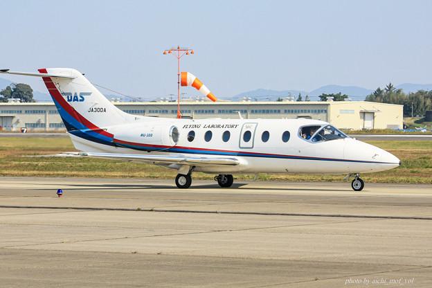 日本法人所有 三菱MU-300 JA30DA IMG_6170-2