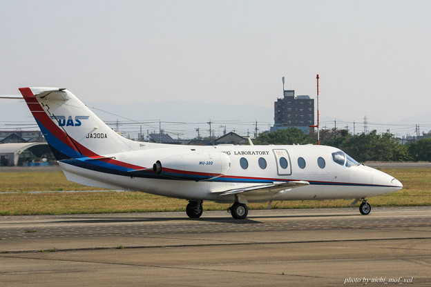 日本法人所有 三菱MU-300 JA30DA IMG_6171-2