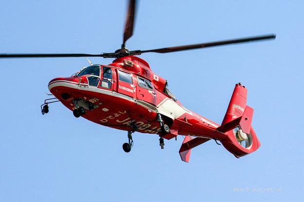 名古屋市消防航空隊 エアバスヘリコプターズ AS365N3 Dauphin2 JA08AR ひでよし IMG_6237-2