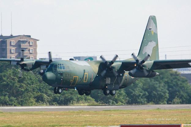航空自衛隊 第1輸送飛行隊 第401飛行隊 C-130H 75-1075 IMG_6283-2