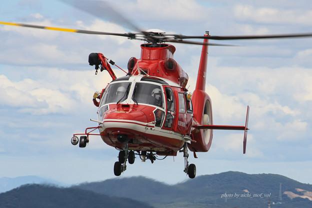 名古屋市消防航空隊 エアバスヘリコプターズ AS365N3 Dauphin2 JA08AR ひでよし IMG_6780-2