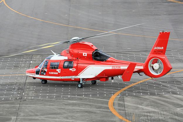 名古屋市消防航空隊 エアバスヘリコプターズ AS365N3 Dauphin2 JA08AR ひでよし IMG_6853-2