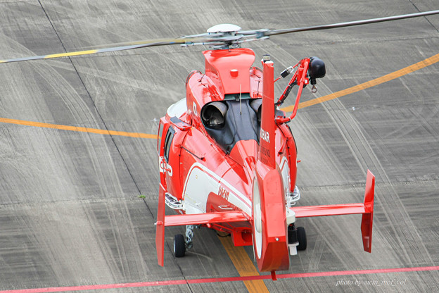 名古屋市消防航空隊 エアバスヘリコプターズ AS365N3 Dauphin2 JA08AR ひでよし IMG_6852-2