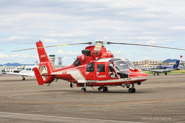 名古屋市消防航空隊 エアバスヘリコプターズ AS365N3 Dauphin2 JA08AR ひでよし IMG_6817-2