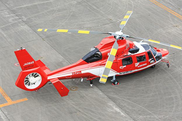 名古屋市消防航空隊 エアバスヘリコプターズ AS365N3 Dauphin2 JA08AR ひでよし IMG_6807-2
