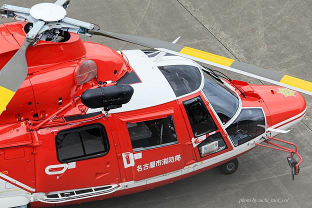 名古屋市消防航空隊 エアバスヘリコプターズ AS365N3 Dauphin2 JA08AR ひでよし IMG_6805-2