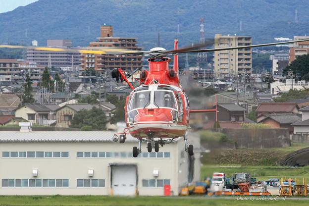 名古屋市消防航空隊 エアバスヘリコプターズ AS365N3 Dauphin2 JA08AR ひでよし IMG_6787-2