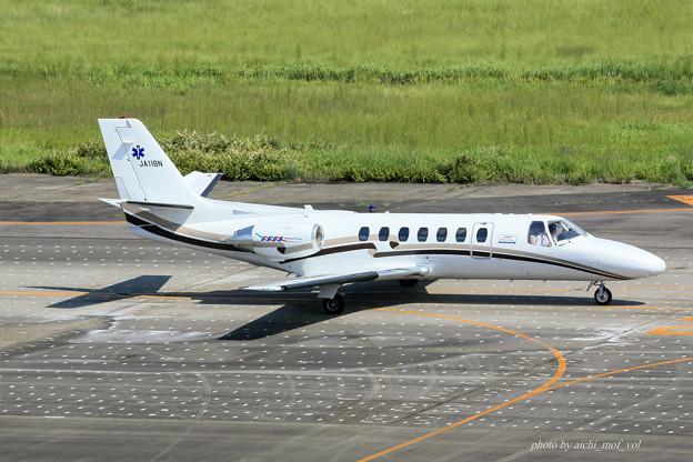 中日本航空 セスナ560 サイテーションV JA118N メディカルウィング IMG_6950-2