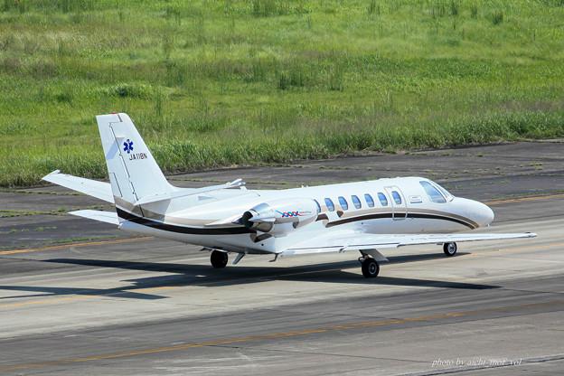 Photos: 中日本航空 セスナ560 サイテーションV JA118N メディカルウィング IMG_6956-3