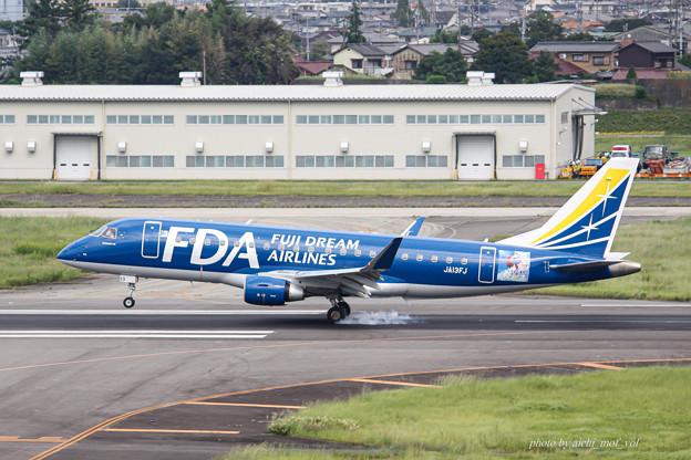 FDA フジドリームエアラインズ JA13FJ ネイビー エンブラエル ERJ-175 IMG_6991-2