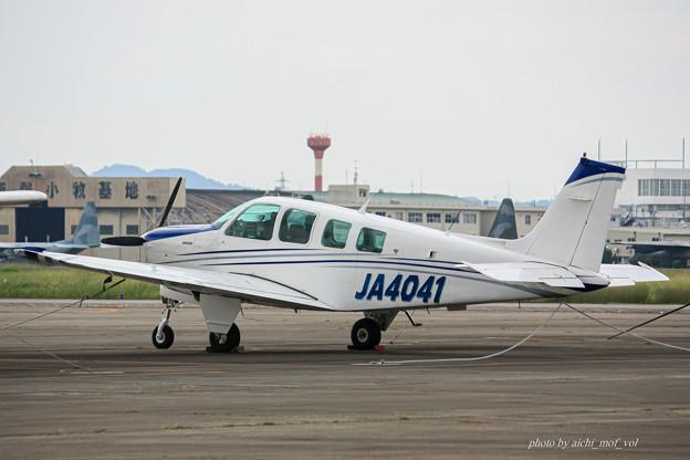 ビーチクラフト A36 ボナンザ JA4041 IMG_7074-2