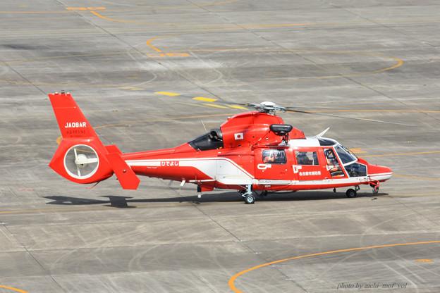 名古屋市消防航空隊 エアバスヘリコプターズ AS365N3 Dauphin2 JA08AR ひでよし IMG_7213-2