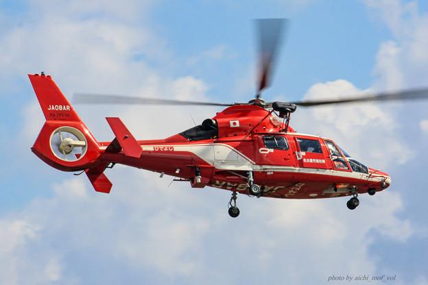 名古屋市消防航空隊 エアバスヘリコプターズ AS365N3 Dauphin2 JA08AR ひでよし IMG_7221-2