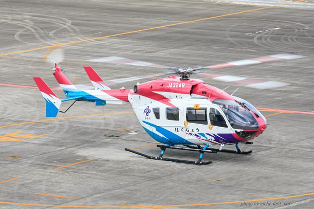 島根県防災航空隊 Kawasaki BK117C-2 JA32AR はくちょう IMG_7423-2