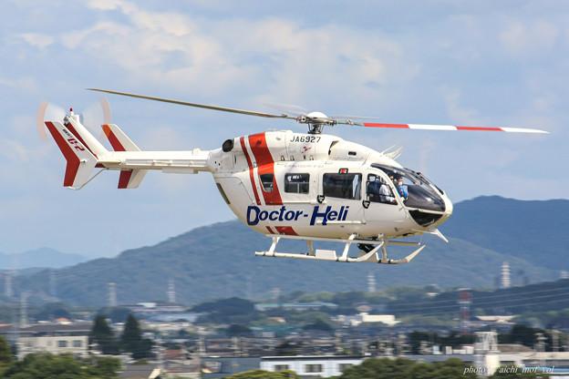 セントラルヘリコプターサービス Kawasaki BK117C-2 JA6927 IMG_7319-2