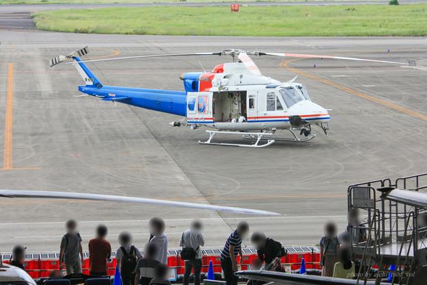 愛知県防災航空隊 ベル412EPI JA23AR わかしゃち IMG_7066-3