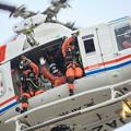 愛知県防災航空隊 ベル412EPI JA23AR わかしゃち IMG_7091-2