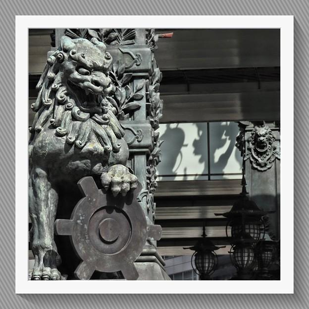 Photos: 獅子像