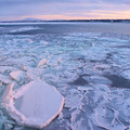 オーロラ号からの流氷