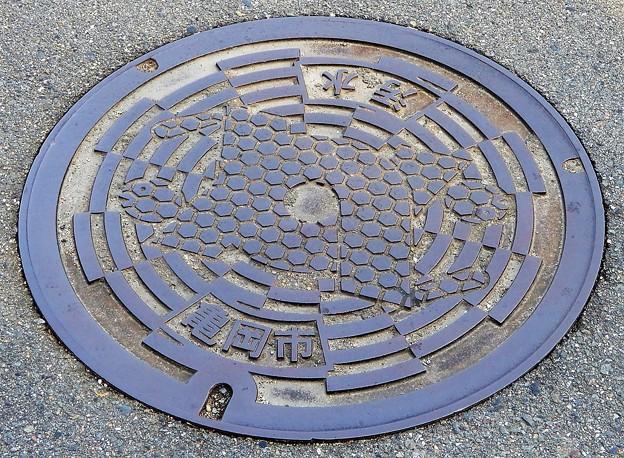 621-0000亀岡市のマンホール (2)