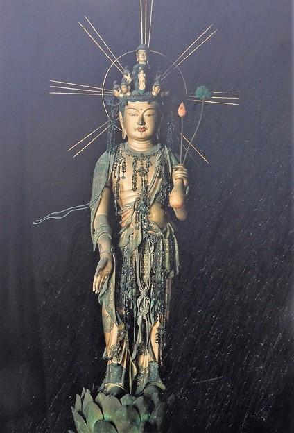 海龍王寺 (7)・十一面観音立像