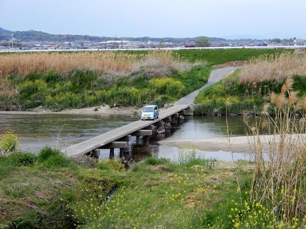 29大和川の沈下橋