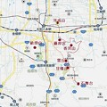 往路及び復路八木駅付近まで・地図 (2)