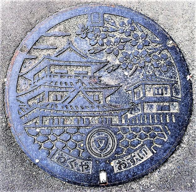 987-0100涌谷町(宮城県遠田郡)のマンホール(2)