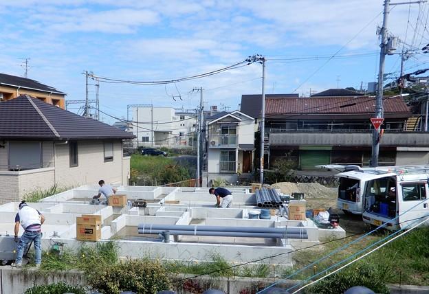 Photos: 20210920隣地工事