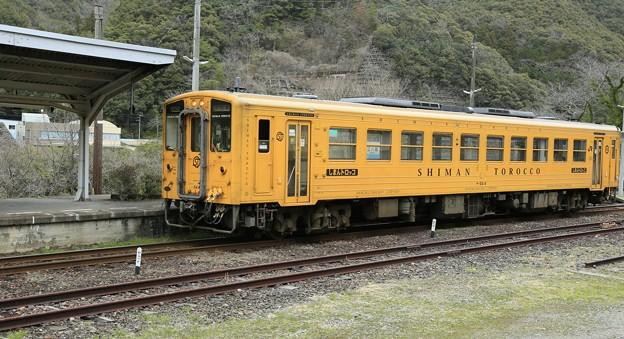 Photos: 予土線・江川崎駅にて
