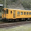 予土線・江川崎駅にて