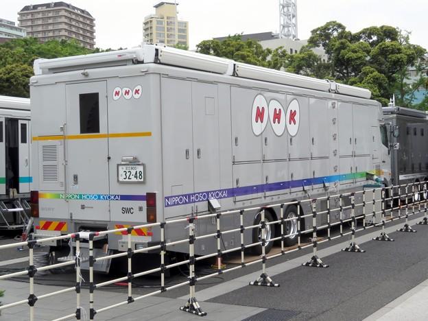 082 NHK 4K-4随伴スイッチングセンター車