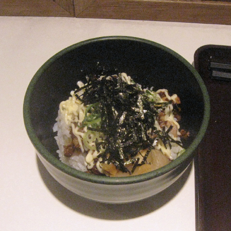 チャーマヨ丼