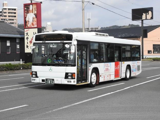 1813号車(元京成バス)