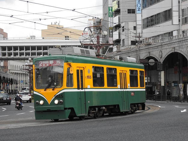 【鹿児島市電】9500形 9515号車